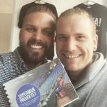 Fantastiskt att träffa engagerade människor som sprudlar av energi och kreativitet. Tack för ett inspirerande möte Andreas Jonsson - kraften bakom Superman projektet ❤ Tillsammans mot mobbning och utanförskap!